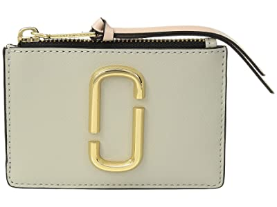 Marc Jacobs Snapshot Top Zip Multi Wallet (Dust Multi) Wallet Handbags