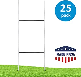 Yard Sign Stakes (25 Pack) – Professional 24