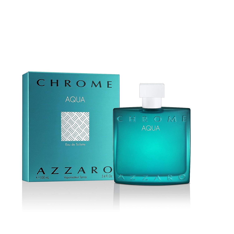 Azzaro Chrome Aqua Max 41% OFF Eau de for Max 63% OFF Cologne Men Toilette -