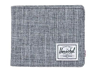 Herschel Supply Co. Roy Coin RFID (Raven Crosshatch) Wallet Handbags