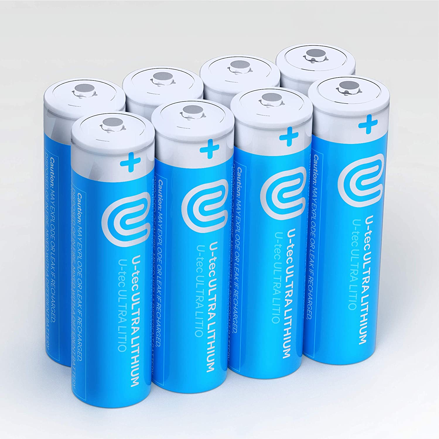U-tec AA 40% OFF Cheap Manufacturer regenerated product Sale Ultra Lithium Battery Pack 3000mAh of 1.5V 8 Longes