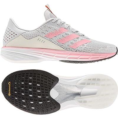 adidas Running SL20 Ready (Grey One F17/Light Flash Red/FTWR White) Women