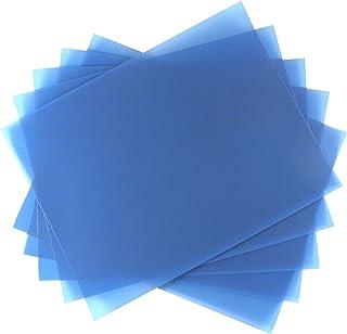 "5 Sheet Bundle 40 Micron (300 Grit) PSA Lapping Microfinishing Film Aluminum Oxide (AO) 8 1/2"" x 11"" 266Xx5"