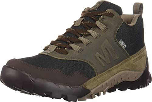 Merrell Annex Recruit Mid WP, Chaussures de Randonnée Basses Homme