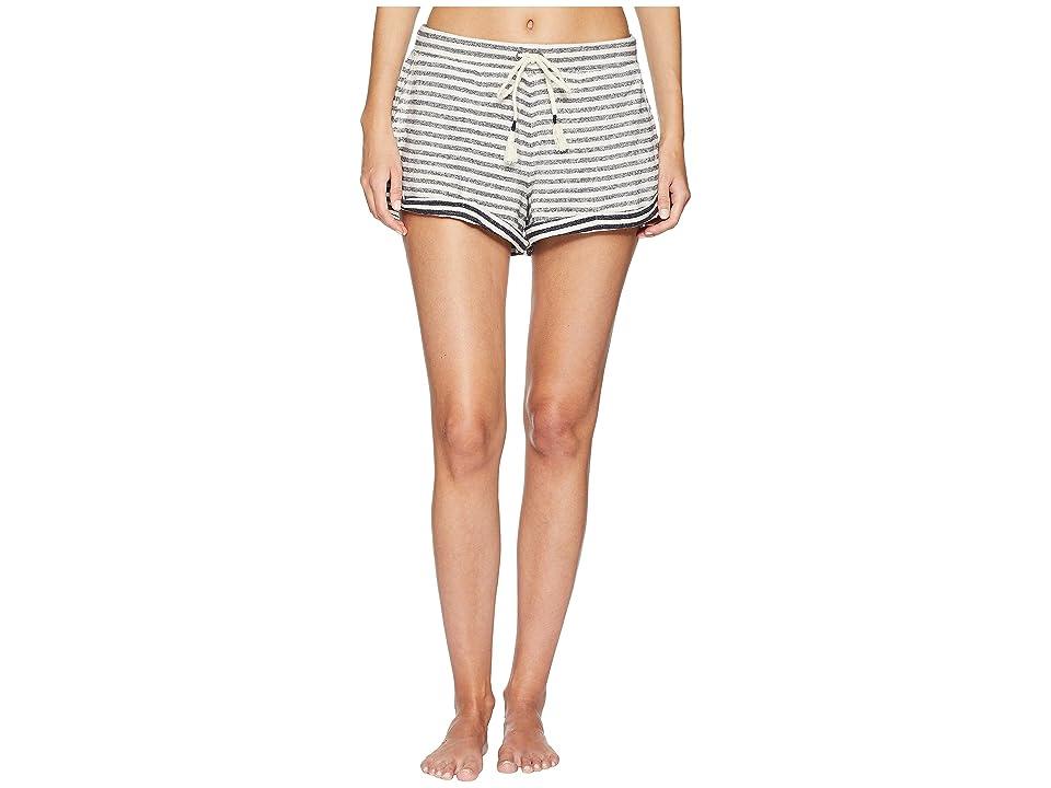 Skin Clooney Shorts (Ivory/Navy Stripe) Women