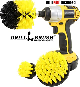 Drillbrush Power Scrubber 3-Brush Cleaning Kit
