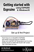 Getting started with Espruino using ESP8266 & Windows10
