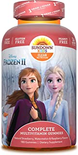 Sundown Kids Disney Frozen 2 Complete Multivitamin, 180 Count