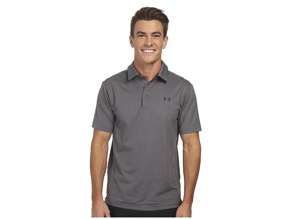 Under Armour Golf UA Playoff Polo (Graphite/Black/Black) Men
