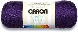 Simply Soft Solids Yarn-Purple