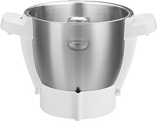 Moulinex XF380E - Bol de acero inoxidable para el robot de cocina Companion, capacidad 4.5 L, con eje extraíble para cocinar 2 recetas sin que tengas que lavar entre ellas
