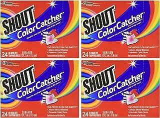 Shout Washer Sheets - 24 Ct - 4 Pk