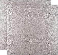 Doitool - Juego de 2 placas de mica para microondas (13 x 13 cm)