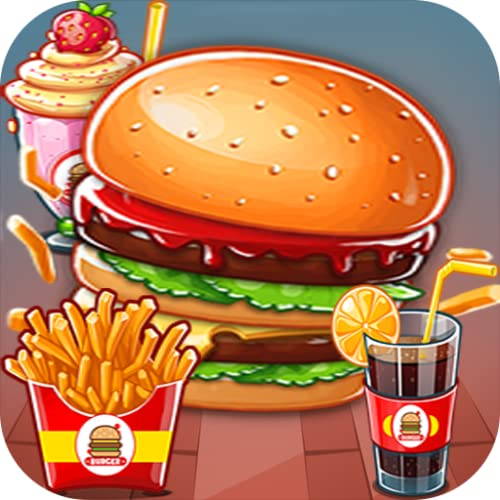 Cooking Hot Burger - Crazy Chef Cooking Hamburger