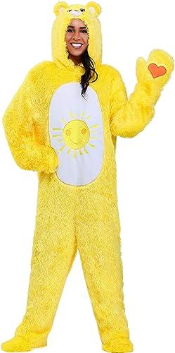 calidad auténtica Care Bears Adult Classic Funshine Bear Bear Bear Fancy Dress Costume  Las ventas en línea ahorran un 70%.