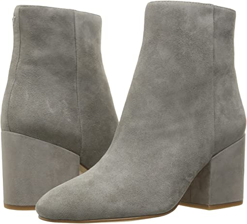 Grey Frost Suede Leather