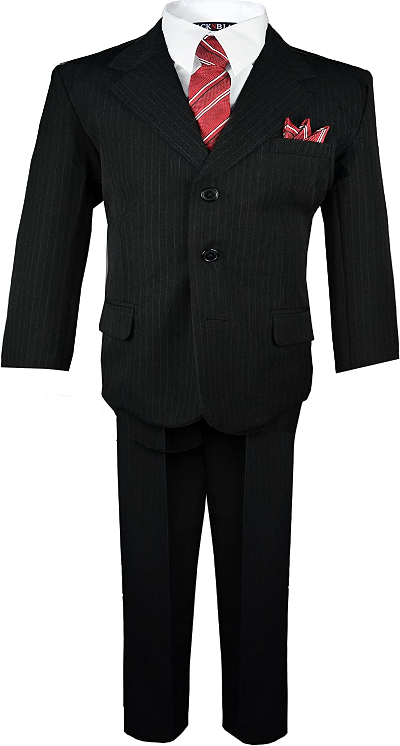 Special half Campaign Black n Bianco Baby Pinstripe Boys Suit Toddler