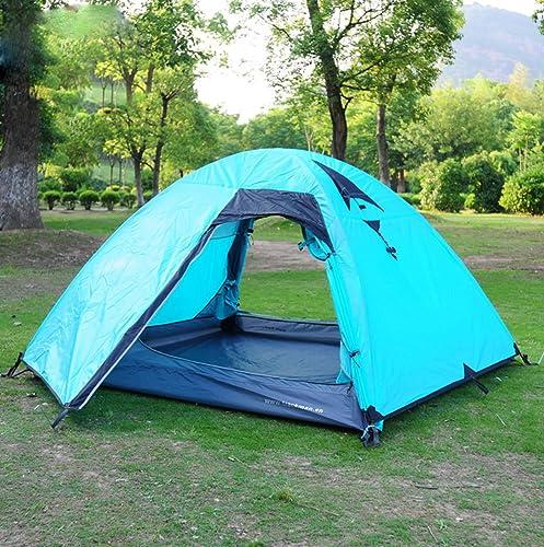 HUOFEINIAO Tentes Extérieures De Camping De Tente De Camping De Trois Saisons De 3-4 Personnes Tentes De Camping
