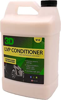 3D Leather, Vinyl & Plastic Conditioner   Cleans, Conditions & Protects   Extends The Life of Leather   Environmentally Friendly   Made in USA   All Natural   No Harmful Chemicals (Gallon)