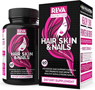 Premium Biotin - Hair Growth Formula - Hair Skin & Nails, Supports Healthier Stronger Hair, Hair Vitamins with Silica, Supports All Hair Types