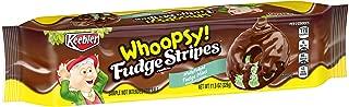 Keebler Whoopsy! Fudge Stripes Cookies, Fudge Mint, 11.5 Ounce (Pack of 12)