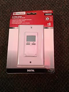 Best utilitech in wall digital timer Reviews