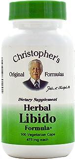 Herbal Libido100 Capchristopher's Original Formulas, 475 mg, 100 Veggie