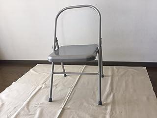 ヨガ用パイプ椅子(座面にクッションはついておりません)アイアンガーヨガ