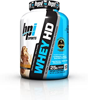 BPI Sports Whey HD 4.2 lb Peanut Butter Ice Cream Bar
