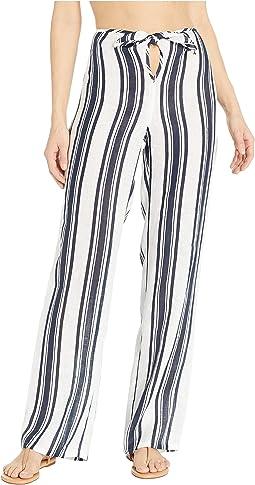 Kellen Printed Beach Pants Cover-Up