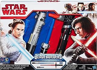 Bladebuilders Store Exclusive Kylo Ren Rey Star Wars Duel Battler LightSaber Pack