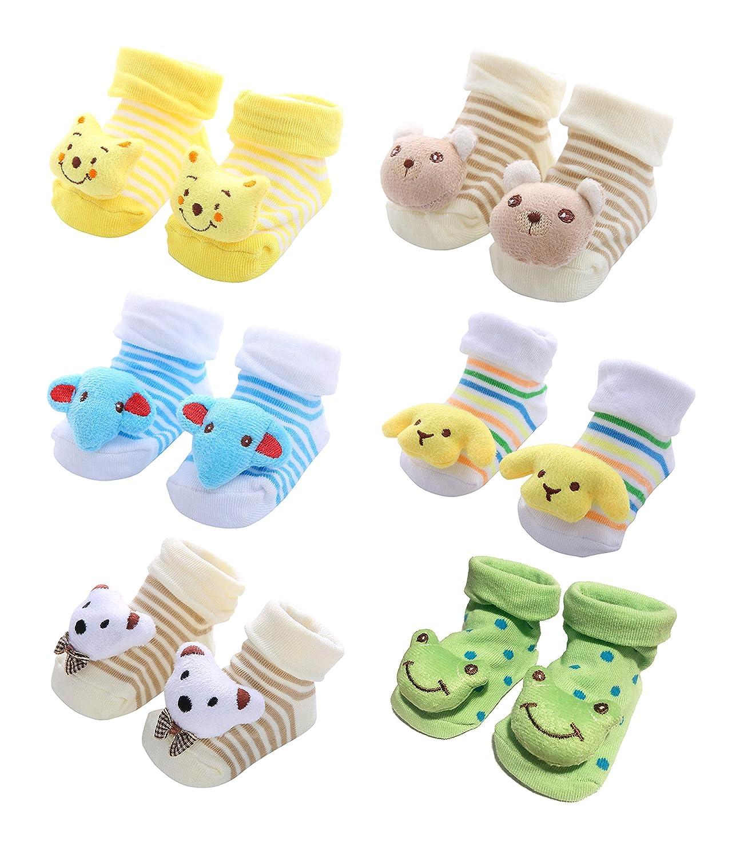 Beaded Baby Socks  0-6 mths