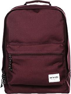 Animal Mens Prelude School College Two Strap Backpack Rucksack Bag - Red