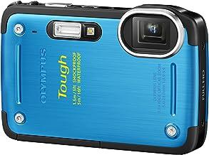 OLYMPUS デジタルカメラ TG-620 1200万画素 5m防水 1.5m耐落下衝撃 裏面照射型CMOS ブルー TG-620 BLU