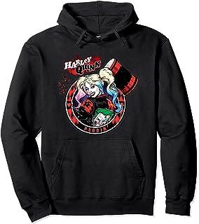 Batman Harley Quinn Joker Patch Sweat à Capuche