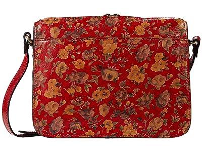Patricia Nash Nazaire Top Zip (Rosso Fiore) Bags