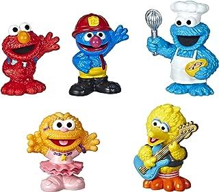 Sesame Street Neighborhood Friends Includes 5 Figures, 3