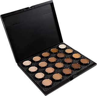 Mehron Makeup Celebre Pro-HD Cream Face & Body Makeup, 20 Color Foundation Palette