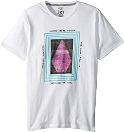 Volcom Kids - Static Stone Short Sleeve Tee (Big Kids)
