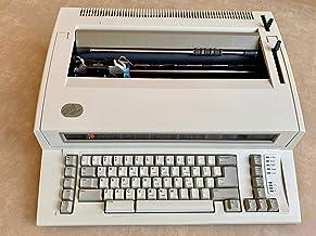 IBM 2 Personal Wheelwriter Typewriter - WW2 (Renewed)