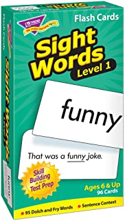Level 1 Sight Words Skill Drill Flash Card Game (96 Pack)