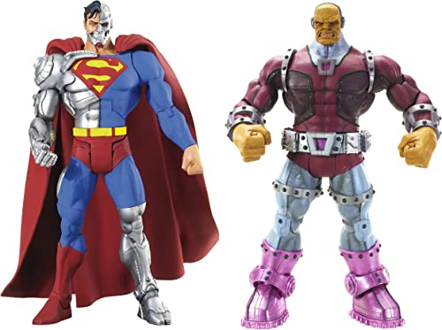 DC Universe Classics Exclusive Action Figure 2-Pack Cyborg Superman and Mongul