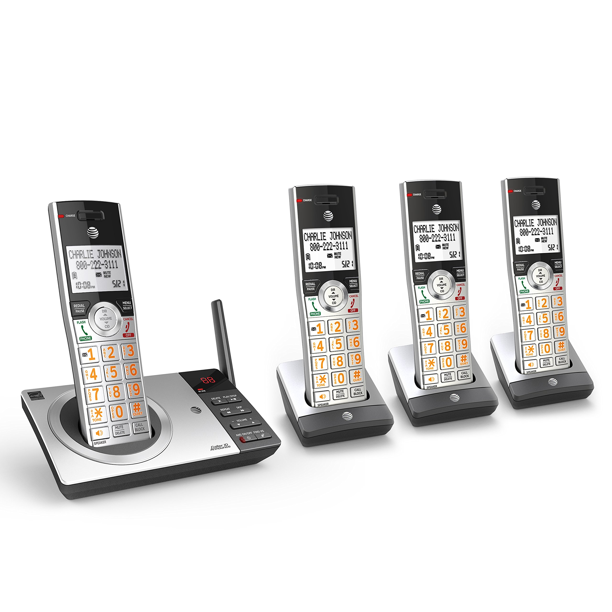 AT CL82407 Expandable Cordless Answering