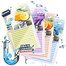 [2020 Newest] Drain Cleaner Sticks, Non-Toxic Sink Clean Deodorizer for Kitchen Bathroom Drains Sinks Pipes Septic Tank Sa...