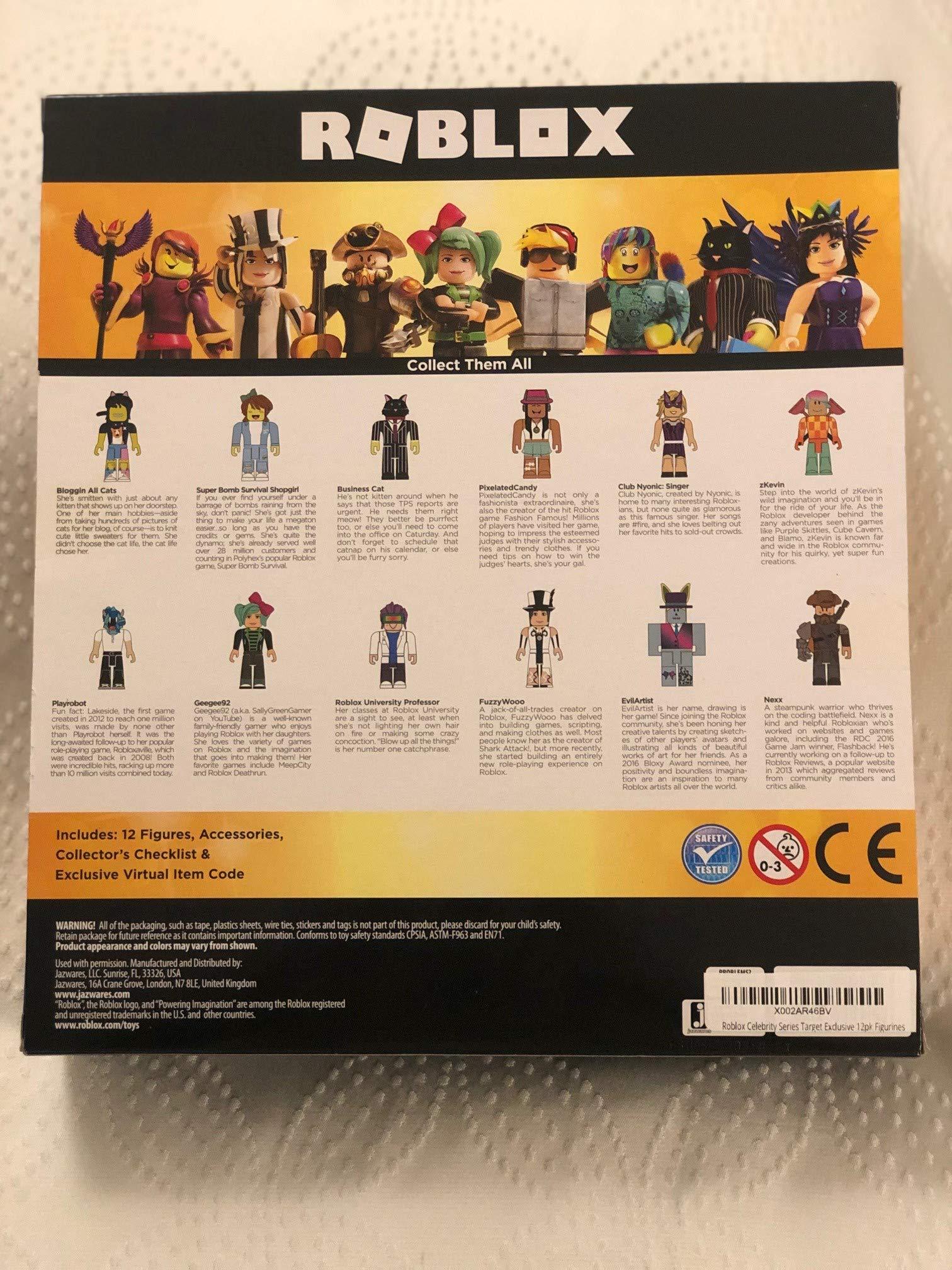 Roblox Target Australia Roblox Celebrity Series Target Exclusive 12pk Figurines Amazon Com Au Toys Games