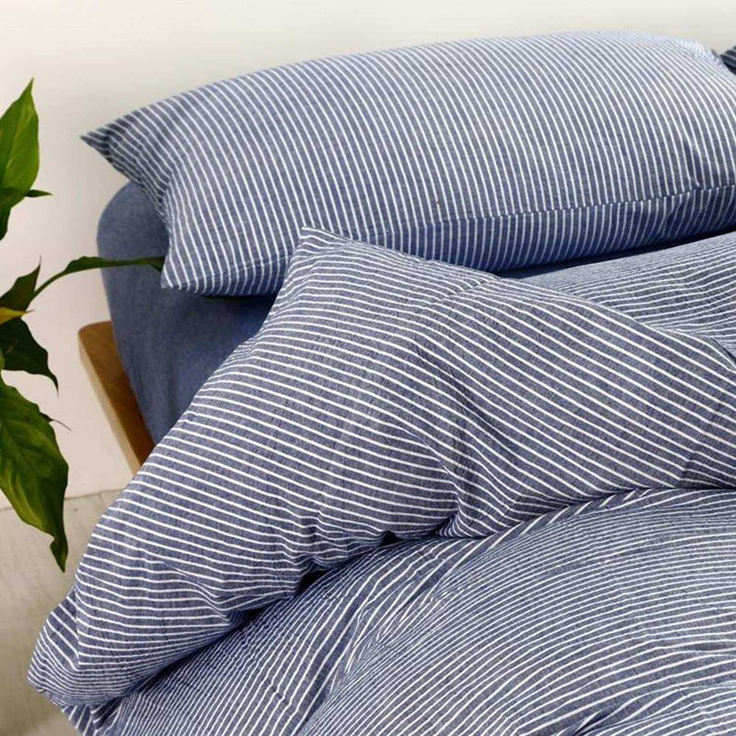 Wash Quilt Cover Pure Cotton Duvet Cover Quilts for Two Persons-L 150  200cm(59x79inch)