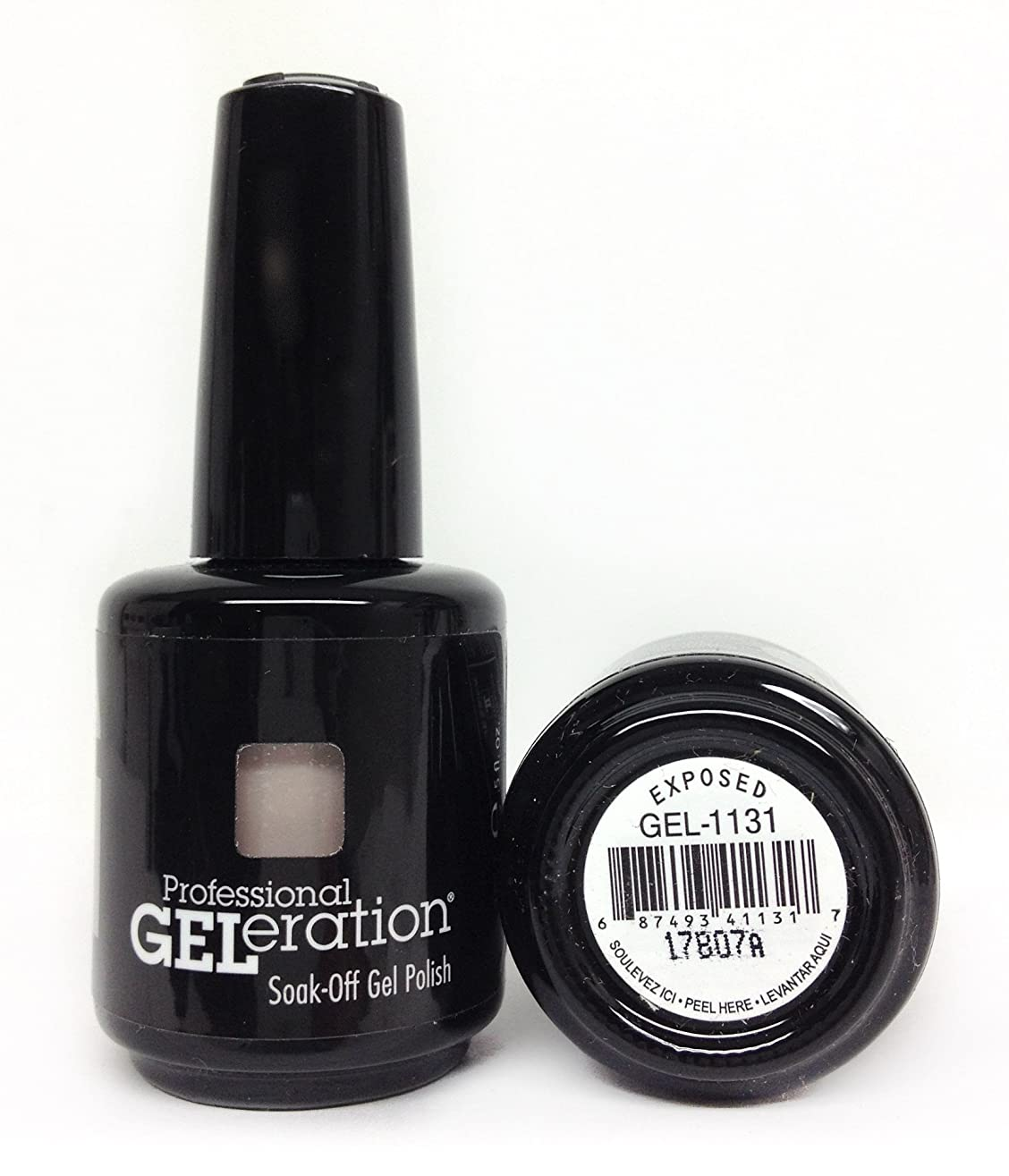 Jessica GELeration Gel Polish - 2017 Silhouette Collection - Exposed - 15ml / 0.5oz