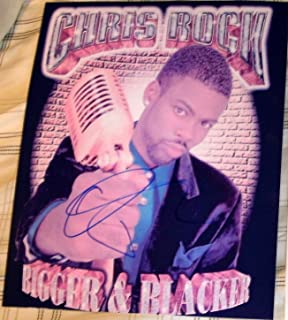 chris rock autograph