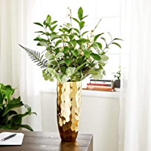 Best metallic gold vase Reviews