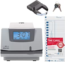 Pyramid 3500 Multi-Purpose Time Clock and Document Stamp – Made in the USA